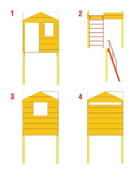 come costruire una in legno come costruire una palafitta in legno per bambini