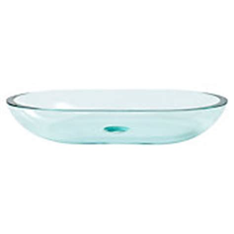 square basin glass vessel sink 23in x 14 1 4in floor and decor