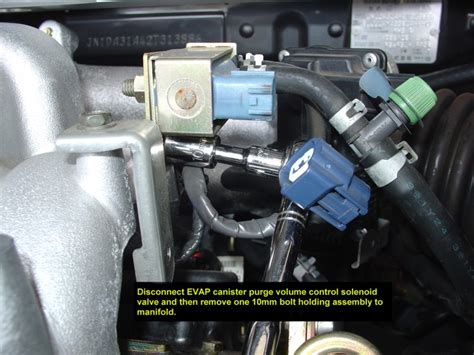 electronic throttle control 2004 infiniti fx electronic valve timing 2002 2004 infiniti i35 spark plugs coils replacement procedure infinitihelp com