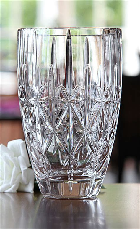 Marquis Vase by Marquis By Waterford Sparkle Vase 9in