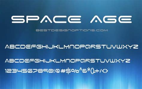 futuristic fonts space age futuristic fonts space font