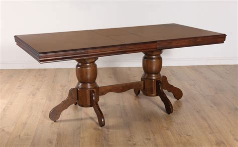 chatsworth extending wood dining room table 150 180