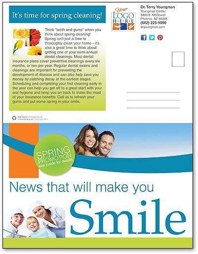 Spring Block Wave Newsletter Smartpractice Dental Dental Newsletter Template