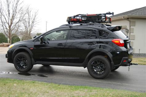 subaru crosstrek custom wheels custom 2014 subaru crosstrek limited 20 000 in extras