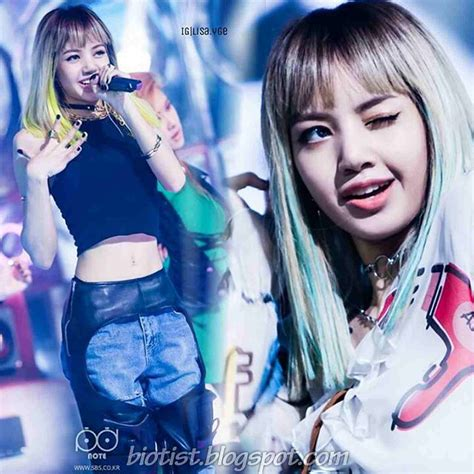 blackpink young lisa black pink profile photos fact bio and more