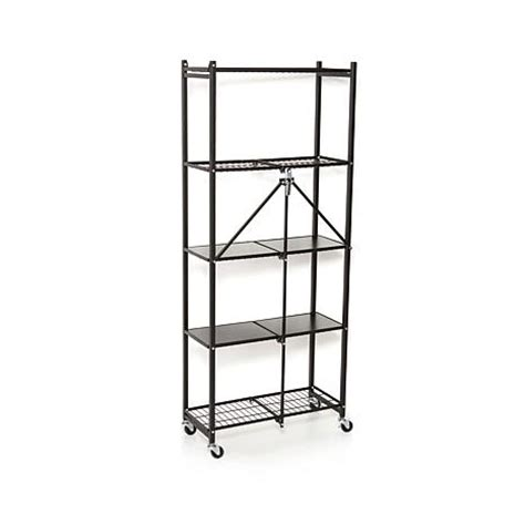 Origami Rack - origami 5 tier folding pantry rack 8090504 hsn