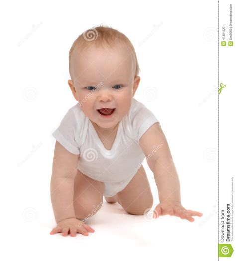 baby in crawling kid infant infant child baby toddler crawling stock photo image 41394223