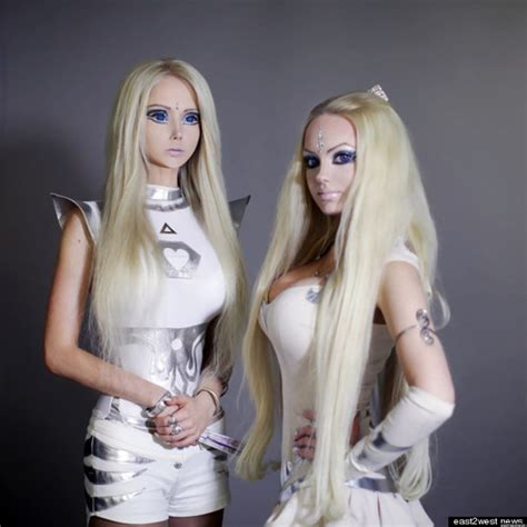 human barbie doll human barbie s twin olga dominica oleynik valeria