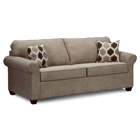 Fletcher Queen Sleeper Sofa Value City Furniture Sofas Sleeper