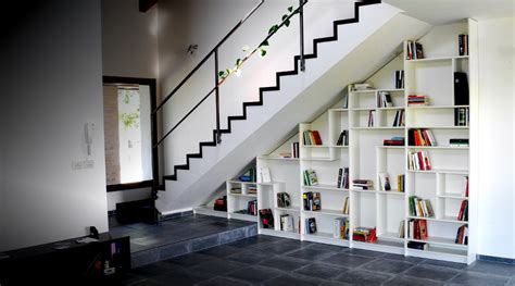 check these amazing interior ideas for stair shelves