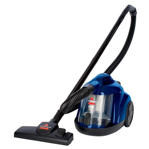 shop bissell zing bagless canister vacuum at lowes