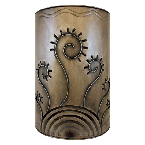 Tin Wall Sconce Mexican Tin Lighting Collection Verano Wall Sconce Lamw09