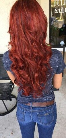 indoor and outdoor lighting vibrant hair joico ruby hair with gold highlights blended in for dimension make and hair ruivos