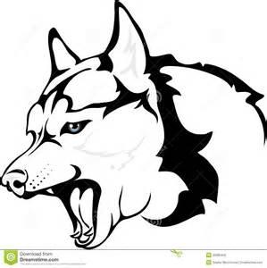evil huskies royalty free stock images image 36585459