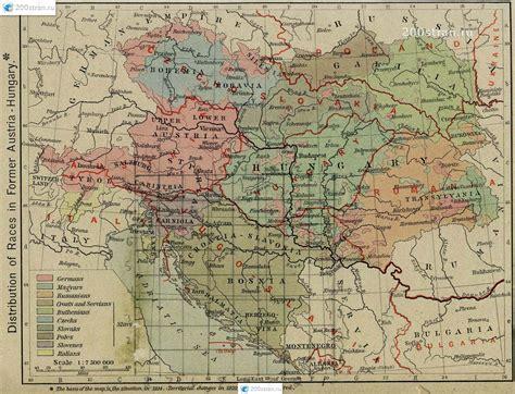 istoricheskaya karta avstro vengrii   gg