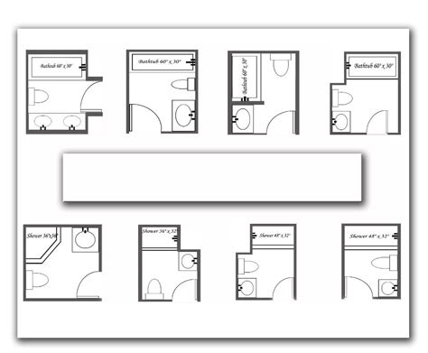 dimensions for a small bathroom 7 beautiful bathroom layouts and designs size bathroom