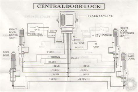 wiring aftermarket power door locks