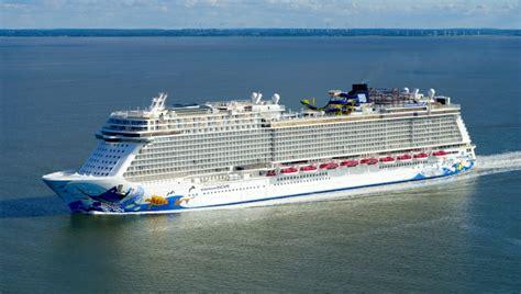 norwegian cruise internship first vessel of the breakaway plus class