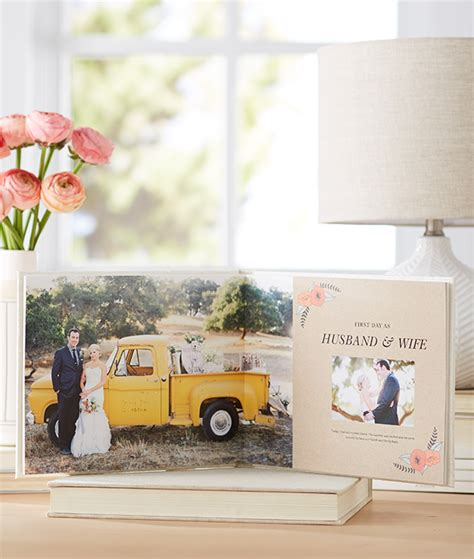 Custom Wedding Photo Book Design by Tell Your Story With Shutterfly Wedding Photo Books
