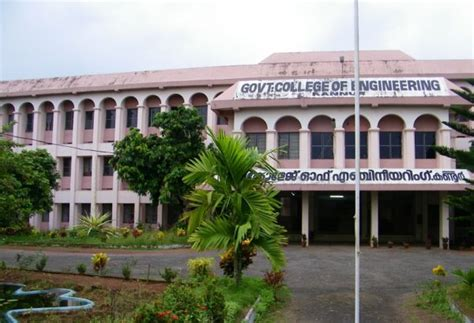 Government For Mba Graduates In Kerala by Government College Of Engineering Gce Kannur Admissions