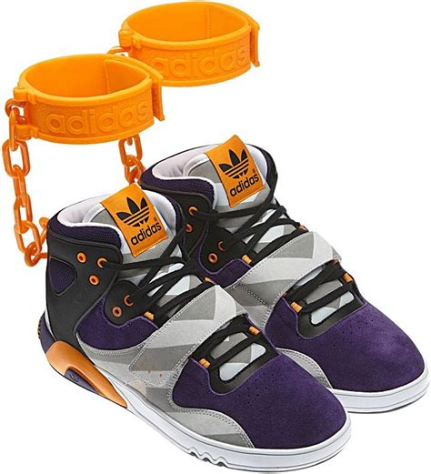 Adidas scraps 'outrageous' new trainer with orange 'shackles' like those worn by black slaves