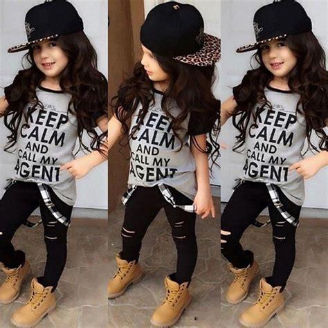 Letters 2pcs Dress Size Ml fashion 2pcs set toddler baby clothes hip