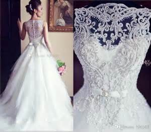 vestido de noiva ball gown vintage wedding dresses lace