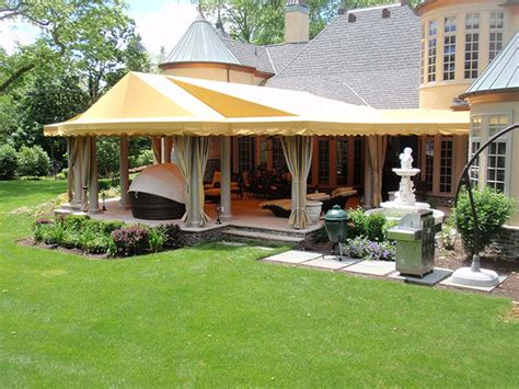 Canvas Patio Awnings by Custom Fabricated Residential Canvas Products