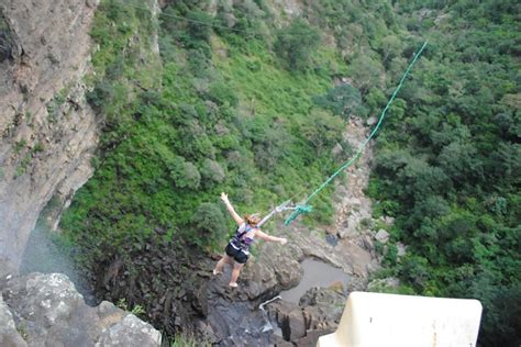 gorge swing oribi gorge swing jumps into the abyss in south africa