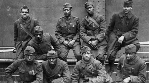 wwi heroes two morristown won medals with harlem