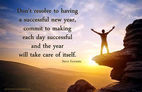 quotes for new year success