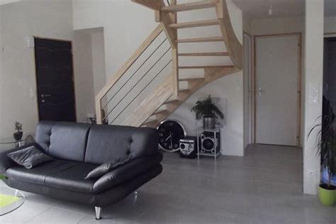 Pose Carrelage Grand Format Sur Plancher Chauffant by R 233 Alisations Habitat Int 233 Rieur 224 Lorient