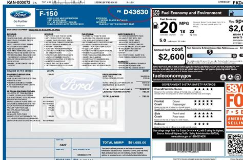 Ford Window Sticker by Window Sticker Ford F150 Kamos Sticker