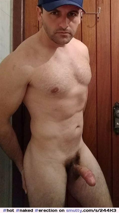 Hot Naked Erection Hardcock Dick Male Public