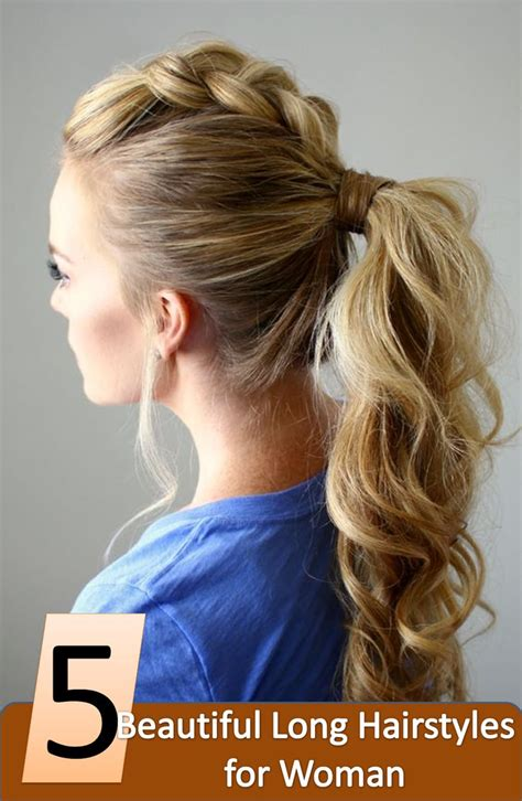 3 easy everyday ponytail hairstyles for medium to long 1000 ideas about easy everyday hairstyles on pinterest