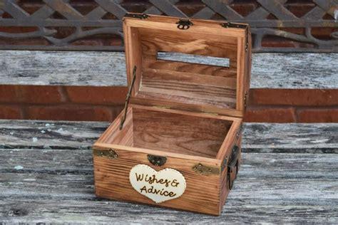 Wedding Note Box by Wedding Advice Box With Slit Wedding Chest Wishing