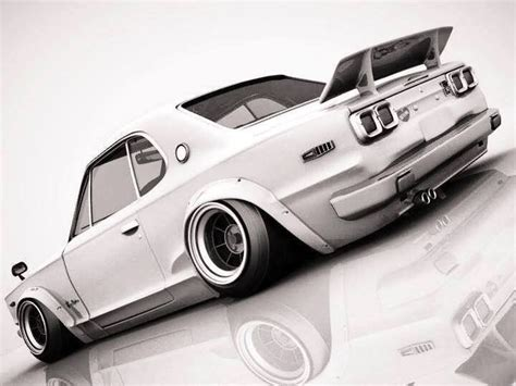 nissan hakosuka stance gt r hakosuka i like http extreme modified com just