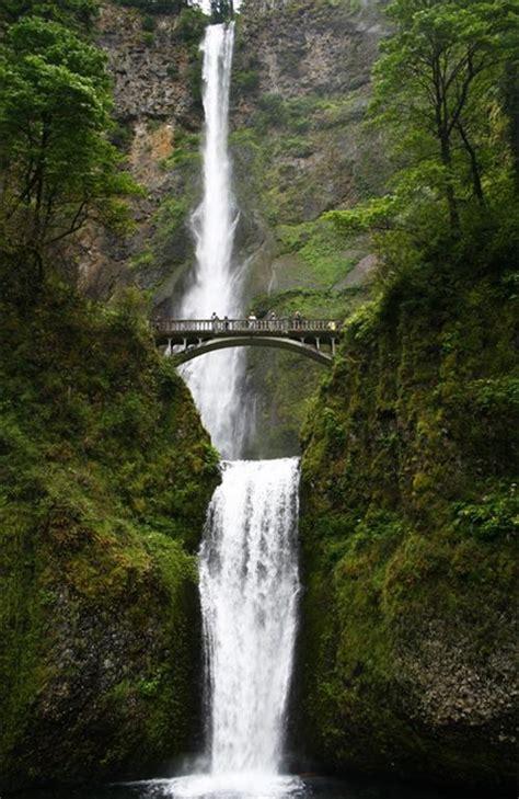 A Place Falls Multnomah Falls Oregon Waterfalls