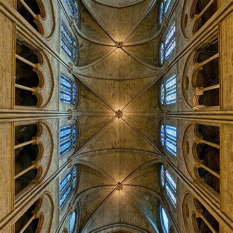 Notre Dame Ceiling by Notre Dame Ceiling Sq V2 Flickr Photo