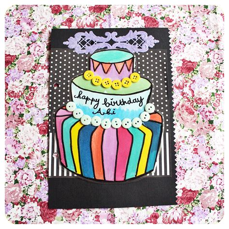 membuat kue ulang tahun dari kertas membuat scrapbook scrapbook ulang tahun abi scrapterra
