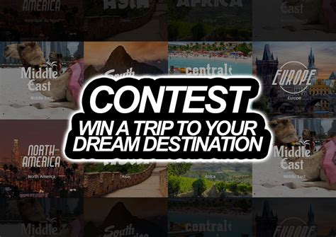 Win A Trip Sweepstakes - sweepstakes win a trip for 2 to a destination of your choice