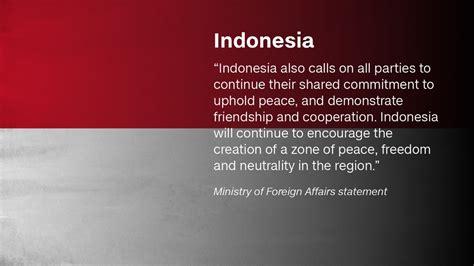 Quotes Indonesia South China Sea China May Establish Air Defense Zone