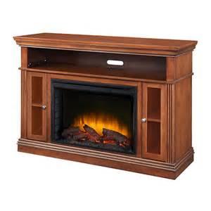 pleasant hearth richmond media console electric fireplace