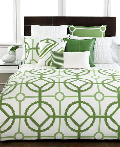 Trellis Comforter by Closeout Hotel Collection Modern Trellis Bedding