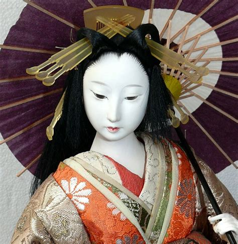 japanese dolls oiran with parasol japanese antique doll japanese dolls