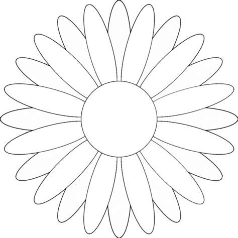 margherita fiore disegno disegno di margherita da colorare per bambini