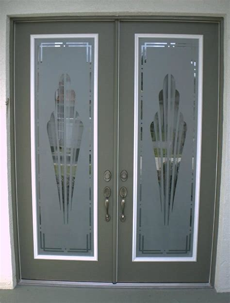 Custom Glass Door Decals by Etched Glass Custom Glass Etching And Frosted Window