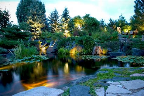 aquascape pond lights led underwater pond water feature lighting services