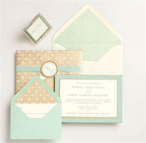 and mint green wedding invitations 324 best wedding trends for 2013 1 the color mint
