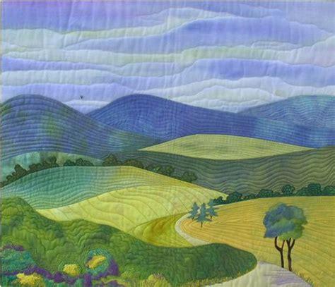 Landscape Quilt Images 17 Best Ideas About Landscape Quilts On